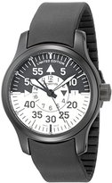 Fortis Men's 672.18.11 K B-42 Flieger Black Cockpit GMT Stainless Steel Watch