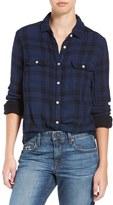 Joe's Jeans Women's 'Amelia' Plaid Cotton Shirt