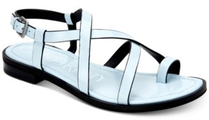 Calvin Klein Women's Tica Flat Sandals Women's Shoes
