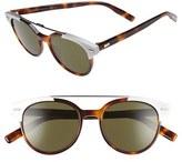 Christian Dior Men's 'Black Tie' 51Mm Sunglasses - Havana
