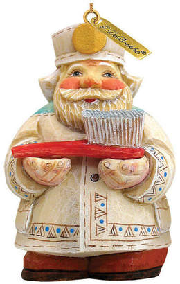 G. Debrekht Artistic Studios Hand Painted Dentist Santa Figurine Ornament