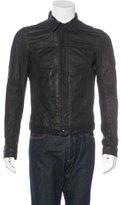 Rick Owens Leather Washed Jacket