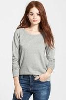 James Perse Women's Classic Raglan Sweatshirt