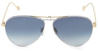 Loewe 61MM Aviator Sunglasses