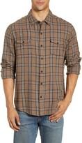 Paige Everett Regular Fit Plaid Button-Up Shirt