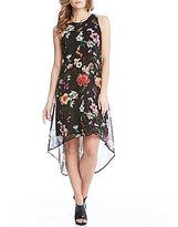 Karen Kane Hi-low Floral Dress