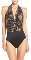 Magicsuit Yves–Gold Rush One-Piece Swimsuit