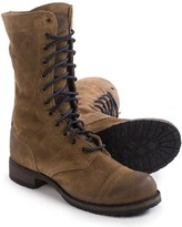 Vintage Shoe Company Molly Boots - Leather, Lace-Ups (For Women)