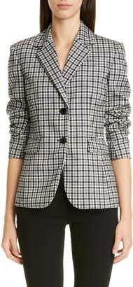 Altuzarra Two-Button Tartan Jacket