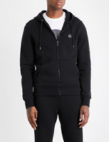 Michael Kors Logo-embroidered cotton-jersey hoody
