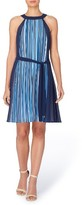 Catherine Malandrino Women's Chazz Stripe A-Line Dress