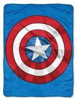 Marvel Avenger The Shield Plush Throw Blanket