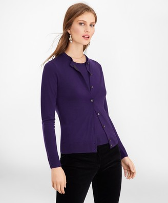 Brooks Brothers Merino Wool Cardigan