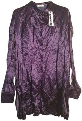Jil Sander Blue Coat for Women