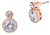 Lauren Ralph Lauren Double Crystal Drop Pierced Earrings