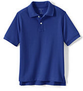 Classic Little Kids Short Sleeve Performance Mesh Polo-White