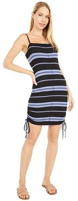 Hurley Malia Rib Dress (Black) Women's Dress