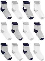 Simple Joys by Carter's Boys' 12-Pack Sock Crew