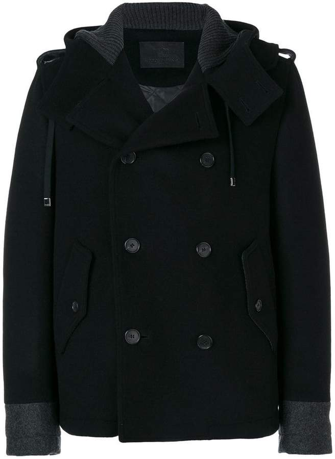 Dolce & Gabbana hooded double breasted jacket