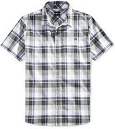 Fox Men's Short-Sleeve Trailblazer Western Plaid Shirt