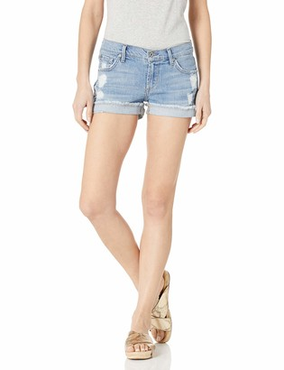 James Jeans Women's Shorty Slouchy Fit Boy Shorts in Joy Ride