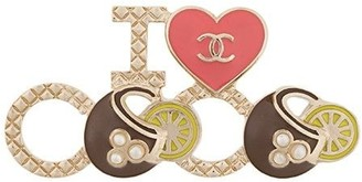 Chanel Pre Owned I Love Coco brooch