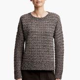James Perse Fairisle Tweed Sweater