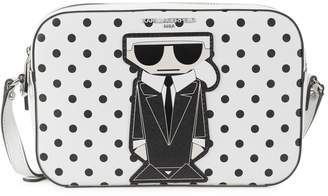 Karl Lagerfeld Paris Dotted Robot Crossbody