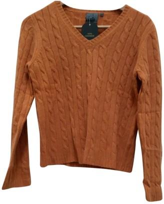 Calvin Klein Orange Cashmere Knitwear for Women