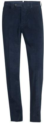 Incotex Benson Wool Fancy Corduroy Trousers