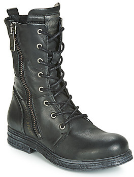 Replay EVY women's Mid Boots in Black