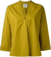 Forte Forte v-neck tunic - women - Cotton - 2