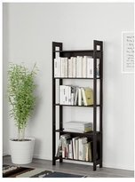 Ikea Laiva Bookcase Shelving Unit Cabinet Black Brown
