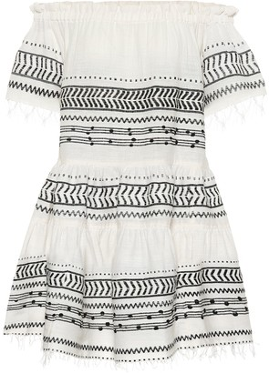 Lemlem Maya cotton-blend minidress