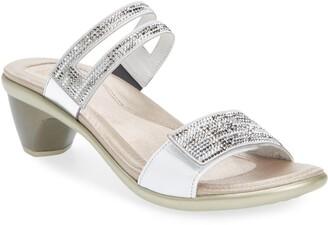 Naot Footwear Temper Embellished Slide Sandal