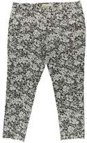 MICHAEL Michael Kors Womens Printed Stretch Casual Pants