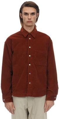 Jacquemus Cotton Velvet Shirt Jacket