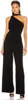 Zimmermann Neck Tie Jumpsuit in Black | FWRD