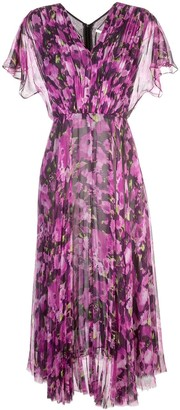 Jason Wu Collection Long Floral Print Dress