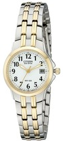 Citizen EW1544-53A Eco-Drive Silhouette Sport Two-Tone Watch