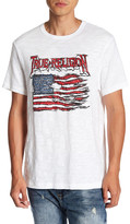 True Religion Land of the Free Graphic Short Sleeve Tee