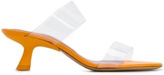 Simon Miller transparent strap sandals