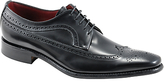 Loake Clint Long-wing Brogues, Black