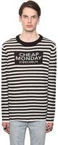 Cheap Monday Intarsia Striped Wool Blend Sweater
