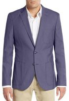 Saks Fifth Avenue Slim-Fit Stretch Woven Blazer