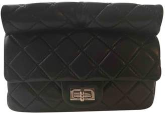 Chanel 2.55 Black Leather Clutch bags