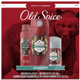 Old Spice Gift Box Bearglove