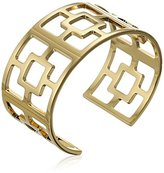 "Trina Turk Basics"" Block Cut Out Cuff Bracelet"