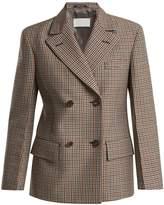 Maison Margiela Double-breasted shrunken jacket
