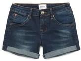 Hudson Girl's Roll Cuff Denim Shorts